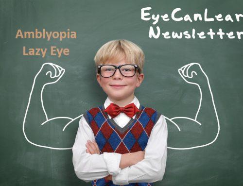 Αμβλυωπία, Σχέση με αυτοαντίληψη, ανάγνωση & κίνηση σε παιδιά 8-13 ετών